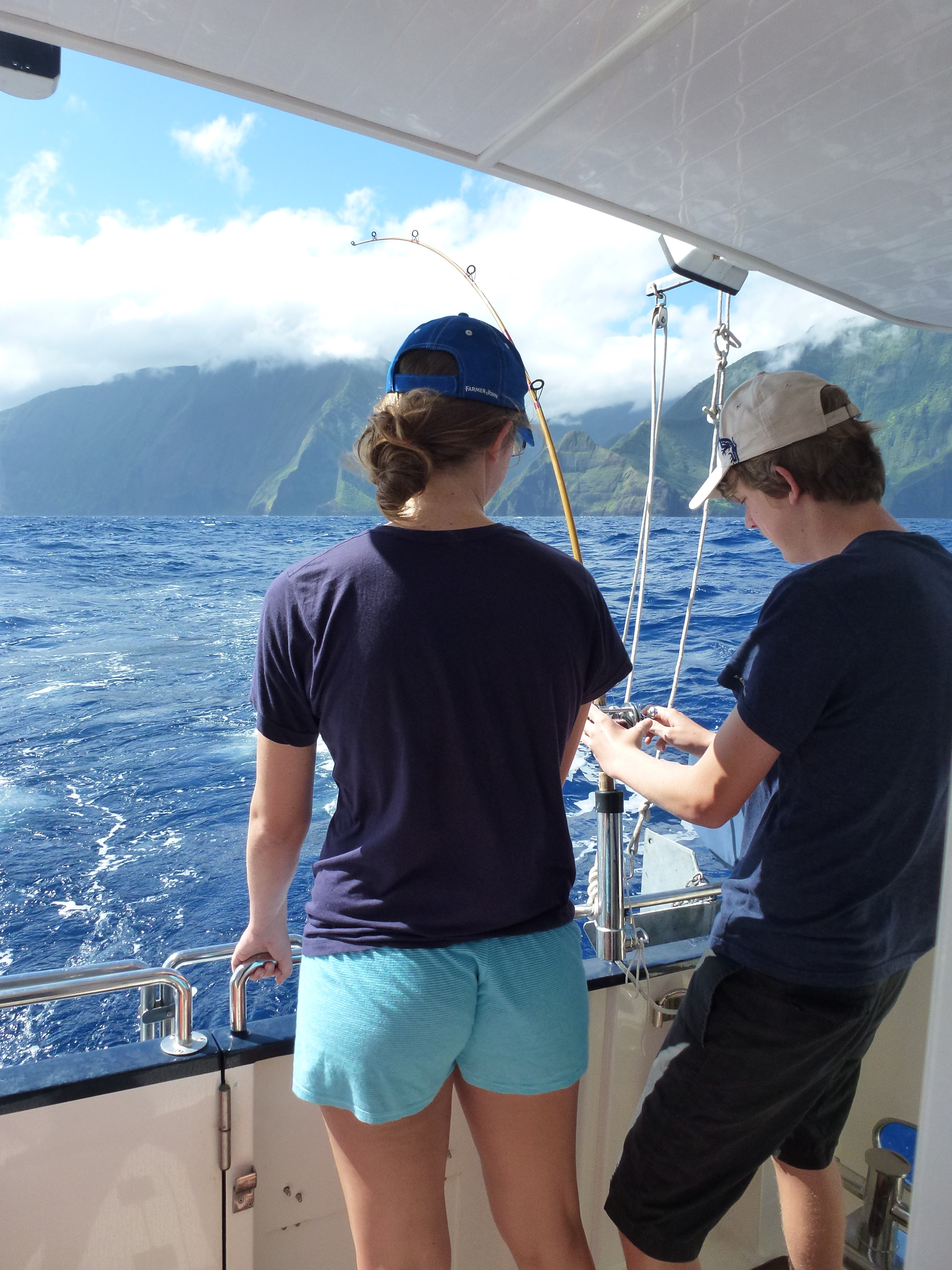 Summer sojourn 1 m y laysan for Molokai fish and dive