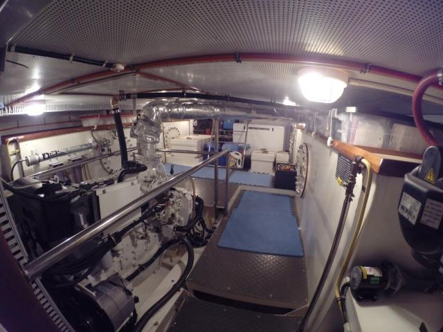 Laysan engine room.